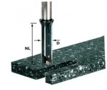 Fraise spéciale pour matière minérale et synthétique : Fraise à rainurer à plaquette