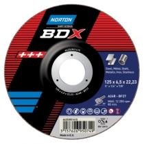 Meule d'ébarbage : BDX - acier