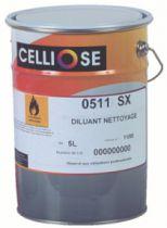 Traitement du bois Celliose : Diluant de nettoyage - universel 0511 SX