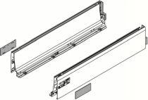 Côté de tiroir double paroi Blum - emballage industriel : Côté de tiroir Intivo blanc - hauteur D