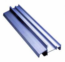 Seuil aluminium pour le bois : Pour menuiserie à fleur - type AXL