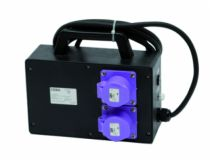 Enrouleur - prolongateur : Coffret transformateur de chantier 24 V