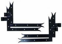 Ferrure de volet et portail : Penture équerre queue de carpe