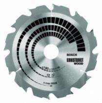 Lame de scie : Bosch - Construst wood