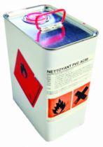 Traitement alu - acier -  PVC - inox : Produit d'entretien pour PVC - AC 80