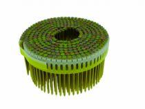 Agrafage et clouage pneumatique : Pointe tête plate crantée galvanisée - pour Paslode CNP 65 1.S