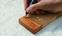 Crayon : De charpentier pour bois humide