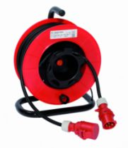 Enrouleur - prolongateur : Série TB inversé - câble H07 RN-F - prises P17 ou 200 Hz