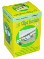 Clips à lambris : Clips n°3 + clous galvanisés