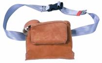 Rangement : Porte-outils cuir 2 compartiments