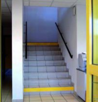 Accessibilité : Adhésif de repérage des contre-marches