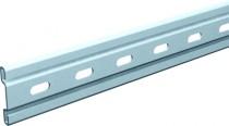 Ferrure de porte coulissante et pliante Mantion : Rail avec jonction pour série Bob 50
