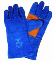 Protection soudeur : Gant de soudeur bleu - catégorie 2