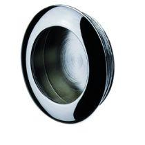 Garniture classique : A encastrer - platine ronde - profondeur 8 mm