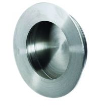 Garniture classique : A encastrer - platine ronde - profondeur 12 mm