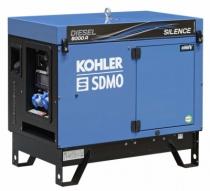Groupe électrogène : Diesel 6000E Silence + kit brouette
