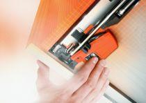Coulisse invisible pour tiroir bois : Boîtier accouplement pour MOVENTO