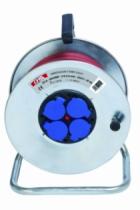 Enrouleur - prolongateur : Cyber-câble avec disjoncteur thermique