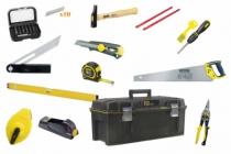 Composition d'outillage : Boite à outils menuisier - 14 outils