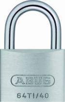 Cadenas à clés : Aluminium massif - série Titalium™ 64