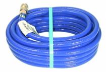 Tuyau et enrouleur à air comprimé : PVC armé bleu