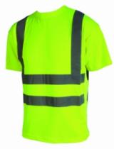 Vêtement de travail : Tee-shirt fluo classe II