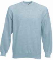SWEAT SHIRT 280GRS GRIS CHINE   S
