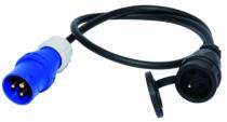 Enrouleur - prolongateur : Prolongateur spécifique - câble HO7RNF