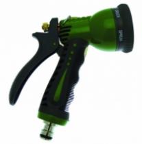 Accessoire d'arrosage et de lavage : Pistolet Taï multijets gainé