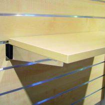 Crémaillère et console - Bohnacker Fuego : Console pour tablette bois chromé