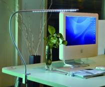 Luminaire led : Lampe bureau flexible Kyros