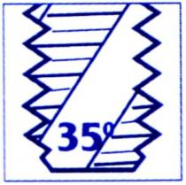 Taraud mécanique générale : Taraud métrique - frittés inox bagué bleu - coupe hélicoïdale