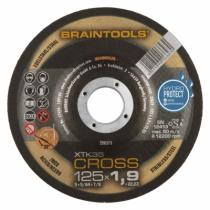 Meule de tronçonnage : XTK35 Cross - acier/inox