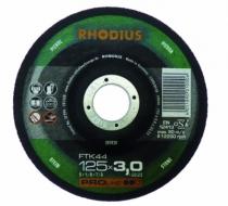 Meule de tronçonnage : FTK44 - matériaux - Rhodius