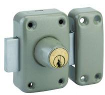Verrou série HG : A 2 entrées - cylindre 5 goupilles HG - ø 23