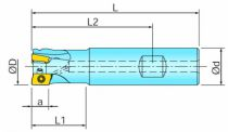 Fraisage : Queue cylindrique pour BOMT 09