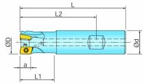 Fraisage : Queue cylindrique pour BOMT 13