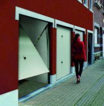 Porte de garage basculante : Porte à rainures motif 114