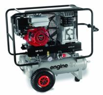 Compresseur d'air : Engineair 5/11+11R - 2 x 11 litres