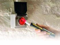 Testeur d'électricité : Stylo/lampe testeur de tension