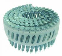 Agrafage et clouage pneumatique : Clou sabot annelé galva en rouleaux 16° pour HN 65J