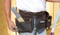 Rangement : Porte-outils cuir 9 compartiments
