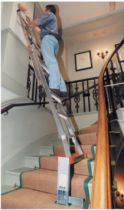 Echelle et accessoire : Support échelle pour escalier