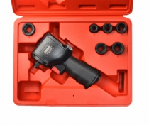 "Outillage air comprimé : Coffret 1/2"" ""ultra-courte"" - 698 Nm - KIT UT8123"