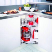 Agencement de cuisine : Ferrure pour meuble d'angle