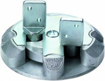 Ferrure de portes et de portails : Fonte aluminium