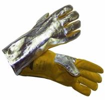Protection soudeur : Gant anti-chaleur mig aluminium