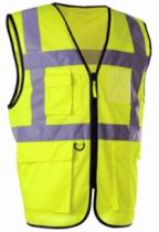 Vêtement de travail : Gilet de signalisation haute visibilité