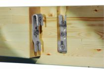 Connecteur métallique assemblage bois : Connecteur invisible