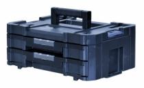 Rangement : Malette 2 tiroirs - Tstak